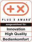 Plus X Award für die Secvest 2WAY Alarmzentrale