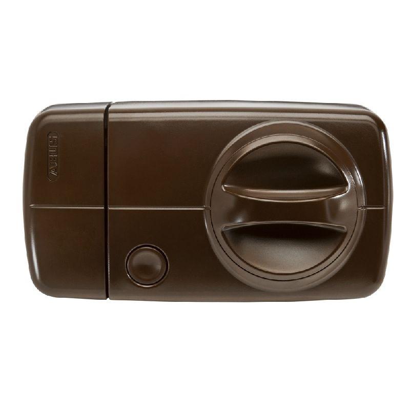 Secvest 2WAY Funk Tür-Zusatzschloss mit Drehknauf, braun - FU8130B